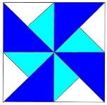 To Instructions for Double Pinwheel Quilt Block