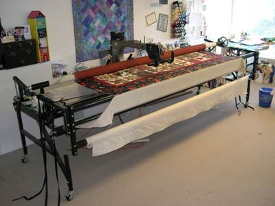 longarm quilting machine.