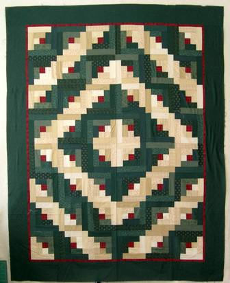 The Log Cabin Quilt Patterns I Teach Classes How To Make This