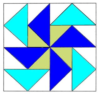 Dutchmans Puzzle Quilt Block, learn how with my free block pattern ... : free quilting lessons - Adamdwight.com