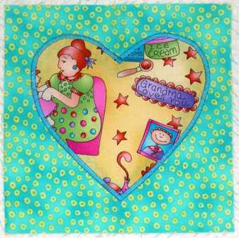 Fused Applique Technique  Tips Grandmas Heart