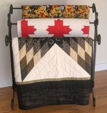 How To Display Your Quilt Patterns