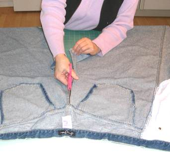 denim quilt