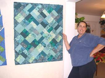 another quilt to sewn together