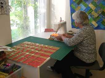 sewing quilt tops together
