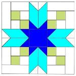To Instructions for Blackfords Beauty Quilt Block Pattern