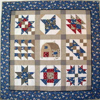 Chicken Quilt Sampler