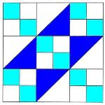 To Instructions for Jacobs Ladder Quilt Block