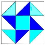 To Instructions for Perpetual Motion Quilt Block