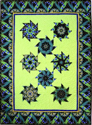 The Stack N Whack Quilt Is A Great Beginners Project It Is So Much