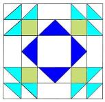 To Instructions for Summer Winds Quilt Block