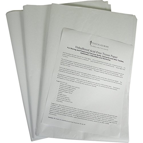 3 Pack Unbuffered Acid-free Paper for Storing and Preserving Precious Quilts