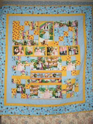 2nd in my series of Wizard of OZ quilts
