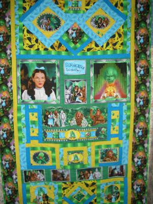 4th in my series of Wizard of OZ quilts