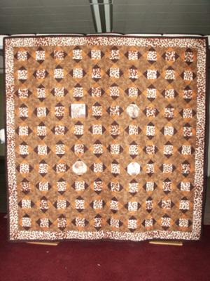 Shirley's Memory quilt.